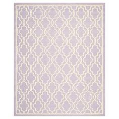 Safavieh Langley Textured Area Rug - Lavender/Ivory (6'x9'), Lavander/Ivory