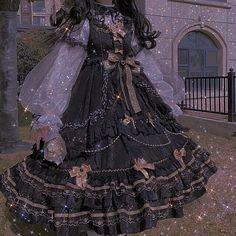 Pretty Outfits, Pretty Dresses, Beautiful Dresses, Kawaii Dress, Kawaii Clothes, Aesthetic Fashion, Aesthetic Clothes, Ball Dresses, Ball Gowns