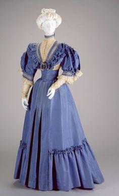 cincinnati art museum gown | AFTERNOON DRESS: BODICE AND SKIRT, 1905-06, Cincinnati Art Museum
