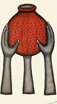 © Cyprien Tokoudagba. Gbé non kpô, 2007. Courtesy of the artist and Galerie Degbomey.