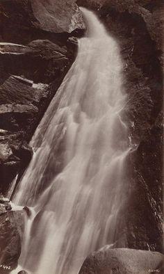 GEORGE FISKE  1835 - 1918 Wild Cat Fall. ca. 1878-1884 Date:ca. 1880
