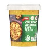 Coles Pumpkin Cauliflower Dhal Soup Meal Pot 440g everyday product