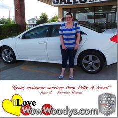 """Great customer services from Polly and Neva!""  Jessie M. Marceline, Missouri"