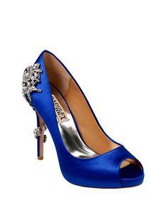 Chaussures | Chaussures femme | Escarpin Royal garni d'une vigne en pierres du Rhin | La Baie D'Hudson