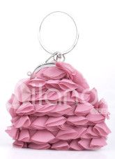 Sweet Chiffon And Brocade 19*18cm Womens Special Occasion Purse  $9.99