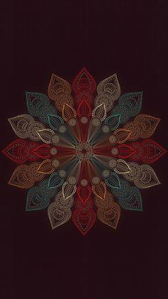 Top 😍🤩 wallpapers and sreensaver {Mandala Flower} Homescreen Wallpaper, Galaxy Wallpaper, Cellphone Wallpaper, Flower Wallpaper, Mobile Wallpaper, Wallpaper Backgrounds, Iphone Wallpaper, Mandala Art, Mandala Design