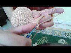 Amigurumi Kaplumbağa -- Gövde yapımı 1.bölüm - YouTube