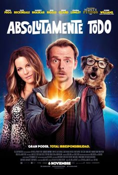 Póster de Absolutamente todo (Absolutely Anything)