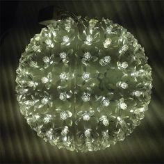 (29.89$)  Watch now  - Dia.20cm Large Flower Led Ball Light Globe Cherry Blossom Tree Fairy Lights New Year Luminare Home Decoration Halloween H-04