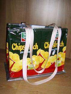 "Makerist - Recycling- Taschen ""Chips"" - Nähprojekte - 1"