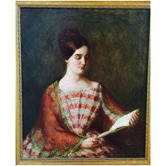 Mary Brewster Hazelton - Original Oil Painting - Listed Artist 1931