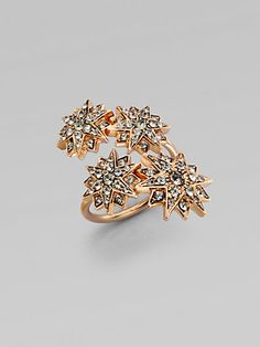 ..he dazzled her with glitz and gold #rings #holidays #gifts
