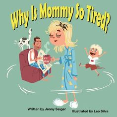 Throwing a BABY SHOWER? Have guests sign Why Is Mommy So Tired? and write their best mommy advice in the book. Then, read aloud story and advice during the party and give it to the mommy-to-be! Fun activity and heartfelt gift for mom and baby!