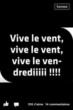 "This is a pun on a French Christmas song sung on the music of ""jingle bells"" Vive le vent, vive le vent Vive le vent d'hiver. French Words, French Quotes, French Christmas Songs, Christmas Music, Vive Le Vent, Learn French, Puns, Sentences, Decir No"