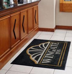 Custom Logo Entry Floor Mats - Custom Impression mats let customers know you are serious about providing a comfortable experience for them and their family.  #USA #MadeInTheUSA