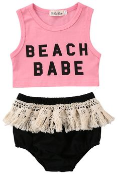 2f4acb2755435d SALE 35% OFF + FREE SHIPPING! SHOP Our Beach Babe Set for Baby