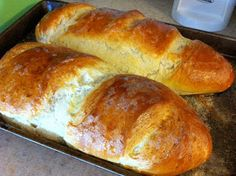 Dinner with The Lysek's: Crusty French Bread