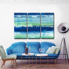 Ready2HangArt Max+E 'Tropical Deep Sea' 3 Piece Canvas Art Set