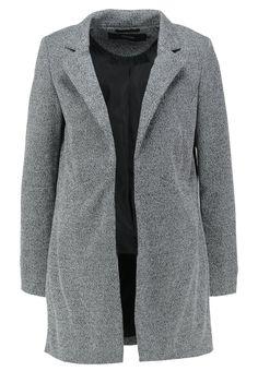 Vero Moda VMLOUISA NEW OPEN - Manteau court - light grey melange - ZALANDO.FR