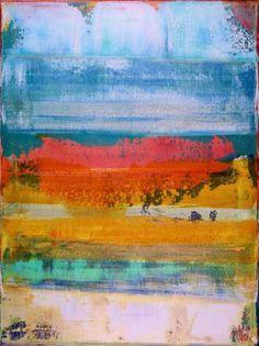 "Saatchi Art Artist Nestor Toro; Painting, ""Dimensional Terrain II-Abstract Sketch"" #art"