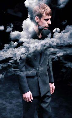 "Prada FW09, Lookbook"" la tête dans les nuages"""