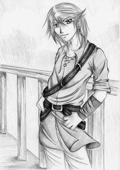 Thief Sketch by ElvesAteMyRamen on DeviantArt