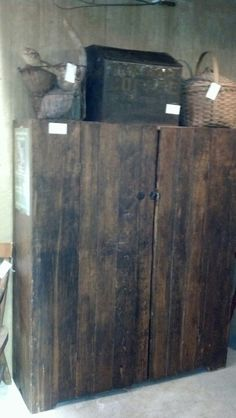 Booth #2323..primitive cabinet