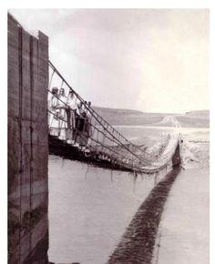 Elazığ - Ağın, Kaşpınar (Pağnik) - Bükler (Suderek) Köyleri arasındaki Asma Köprü
