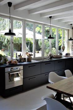 Interior Design Living Room Warm, Interior Design Kitchen, Design Scandinavian, Kitchen Redo, Cabana, Home Kitchens, Home Remodeling, Sweet Home, House Design