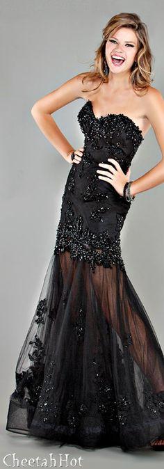 JOVANI - Beautiful Black Gown