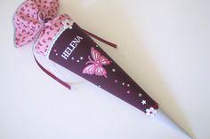 Schultüten - Schultüte Schmetterling - ein Designerstück von Das-Werk-der-Feen bei DaWanda