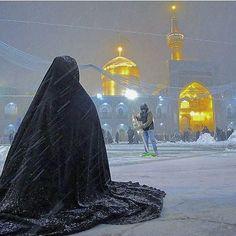 mashhad, imam reza Karbala Iraq, Imam Hussain Karbala, Cute Muslim Couples, Muslim Girls, Arab Girls, Muslim Women, Islamic Images, Islamic Pictures, Imam Reza
