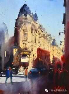 Alvaro Castagnet 《Paris》 75x56 Cm