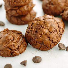 Triple Chocolate Truffle Cookies