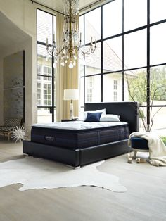 Beautyrest® Black: From the sumptuous fabrics and stylish details to the legendary Beautyrest Recharge® Technology, every component is designed with comfort and rejuvenation in mind!