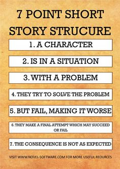 7 Point Short Story Structure More