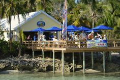 Tranquil Turtle Beach Bar at Bluff House (photo: http://www.bluffhouse.com)