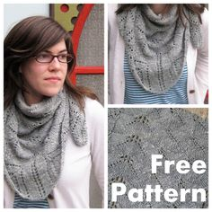 330b6e681333 NobleKnits Knitting Blog  free knitting patterns Shawl Patterns, Knitting  Patterns Free, Free Knitting