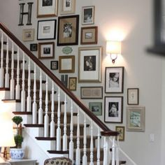 Gallery wall ideas stairway staircase wall ideas must try stair wall decoration ideas stairway gallery wall ideas gallery wall ideas staircase Stairway Photos, Gallery Wall Staircase, Gallery Walls, Staircase Ideas, Picture Wall Staircase, Staircase Frames, Frame Gallery, Picture Walls, Stairwell Wall