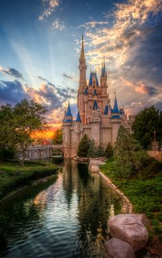 Cinderella Castle Sunset by Jack Crouse on 500px