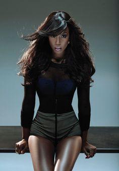 Kelly Rowland- Freekin love her!!                                                                                                                                                                                 More