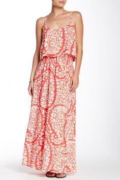 Printed Maxi Dress by Lucky Brand on @HauteLook