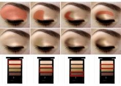 Eye Shadow quads!  I think this would look great on my eye shape.