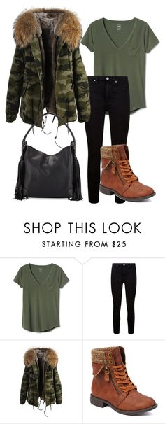 """""""Untitled #322"""" by ema-jones ❤ liked on Polyvore featuring Gap, Paige Denim, Bucco and Christian Louboutin"""