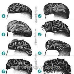 Terrific Hairstyles For Men Undercut By Jesus Belizon Drawing
