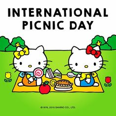 """48 Likes, 3 Comments - Hello Kitty (@wearehellokitty) on Instagram: """"The sun is shinning and today is the perfect day to enjoy the International Picnic Day! So take a…"""""""