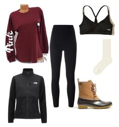 """""""Untitled #54"""" by t-snyder on Polyvore featuring Hollister Co., Victoria's Secret, Madewell, adidas Originals, Uniqlo and The North Face"""