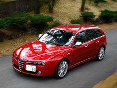 Alfa Romeo 159 Sportwagon Ti JP-spec 2008-2011 wallpaper