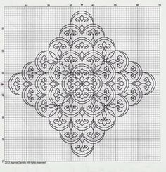 Byrd's Nest: Blackwork Smalls - Lots of free patterns