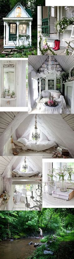 So cute for a vacation home! Very Shabby!!!!!